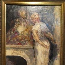 Arte: ESCENA ÁRABE POR PLÁCIDO R,,,?. Lote 176728963