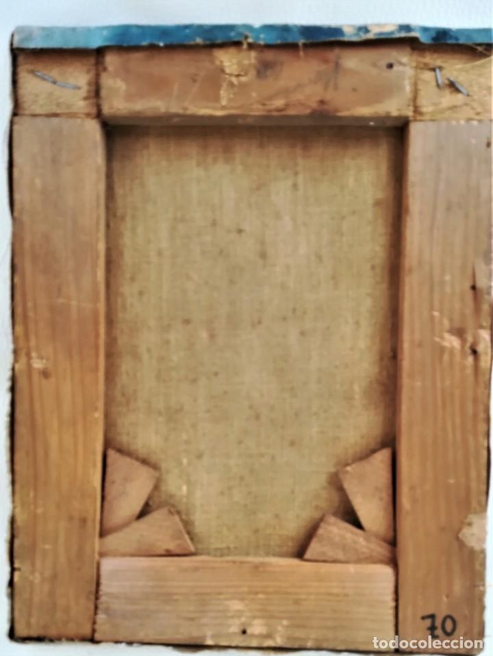 Arte: PINTURA,OLEO EN TELA,SIGLO XIX,CAPITAN DE CABALLERIA EJERCITO ESPAÑOL O POLACO?UNIFORME GALA,MEDALLA - Foto 8 - 176765399