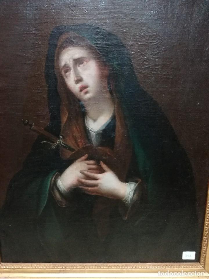 Arte: Virgen dolorosa muy bonita siglo xix - Foto 2 - 176775790