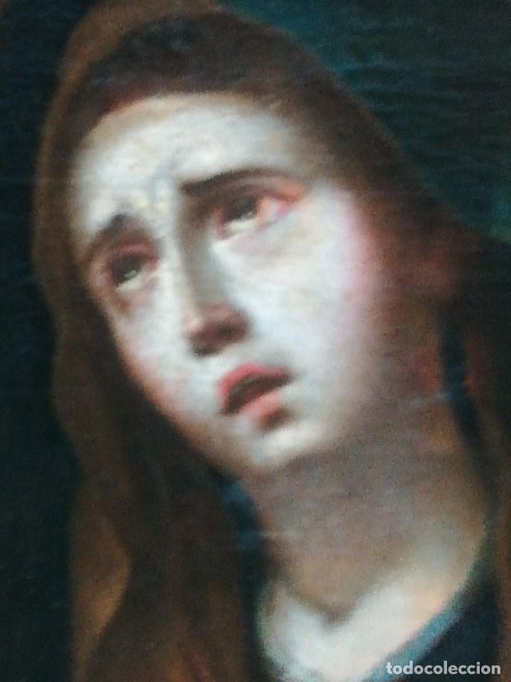 Arte: Virgen dolorosa muy bonita siglo xix - Foto 3 - 176775790