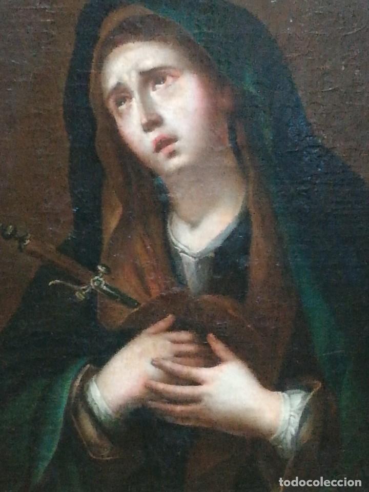 Arte: Virgen dolorosa muy bonita siglo xix - Foto 4 - 176775790
