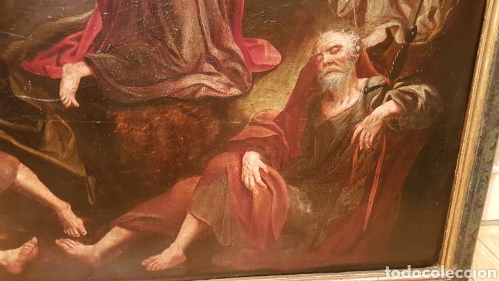 Arte: ESCUELA FLAMENCA SIGLO XVI ( 1580 ). OLEO SOBRE TABLA EN ROBLE DE AMBERES. JESÚS EN EL HUERTO. - Foto 7 - 176780552