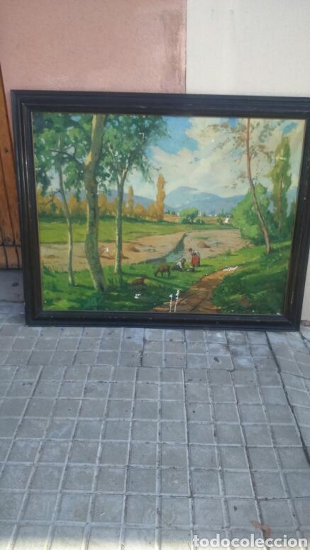 OLEO T BAQUE MERCADER (Arte - Pintura - Pintura al Óleo Antigua sin fecha definida)