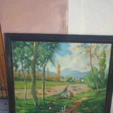 Arte: OLEO T BAQUE MERCADER. Lote 176803543