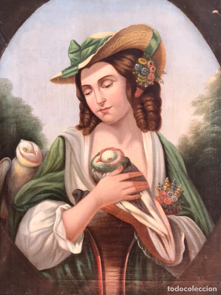 Arte: Escuela Italiana S XVIII, óleo sobre lienzo, 103x90x9 (marco), 65x79 - Foto 3 - 176818449