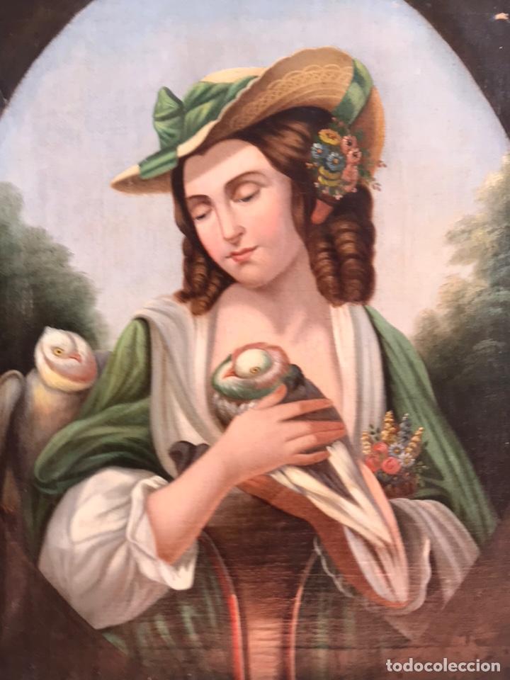 Arte: Escuela Italiana S XVIII, óleo sobre lienzo, 103x90x9 (marco), 65x79 - Foto 4 - 176818449