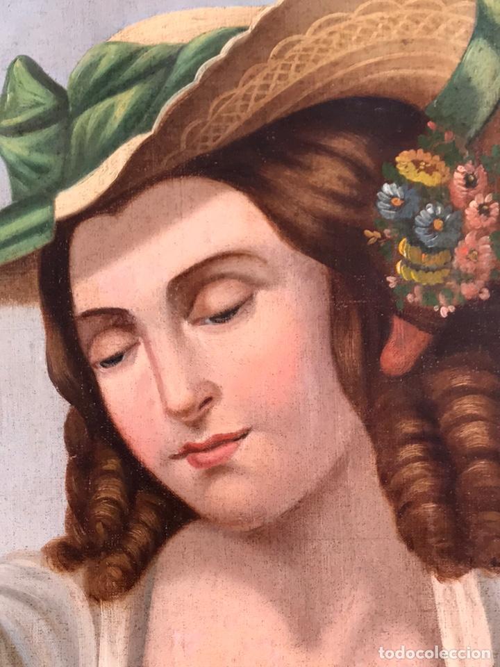 Arte: Escuela Italiana S XVIII, óleo sobre lienzo, 103x90x9 (marco), 65x79 - Foto 5 - 176818449