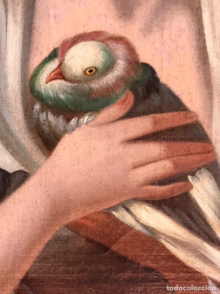 Arte: Escuela Italiana S XVIII, óleo sobre lienzo, 103x90x9 (marco), 65x79 - Foto 6 - 176818449