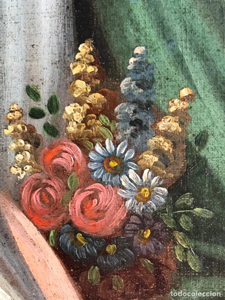 Arte: Escuela Italiana S XVIII, óleo sobre lienzo, 103x90x9 (marco), 65x79 - Foto 9 - 176818449
