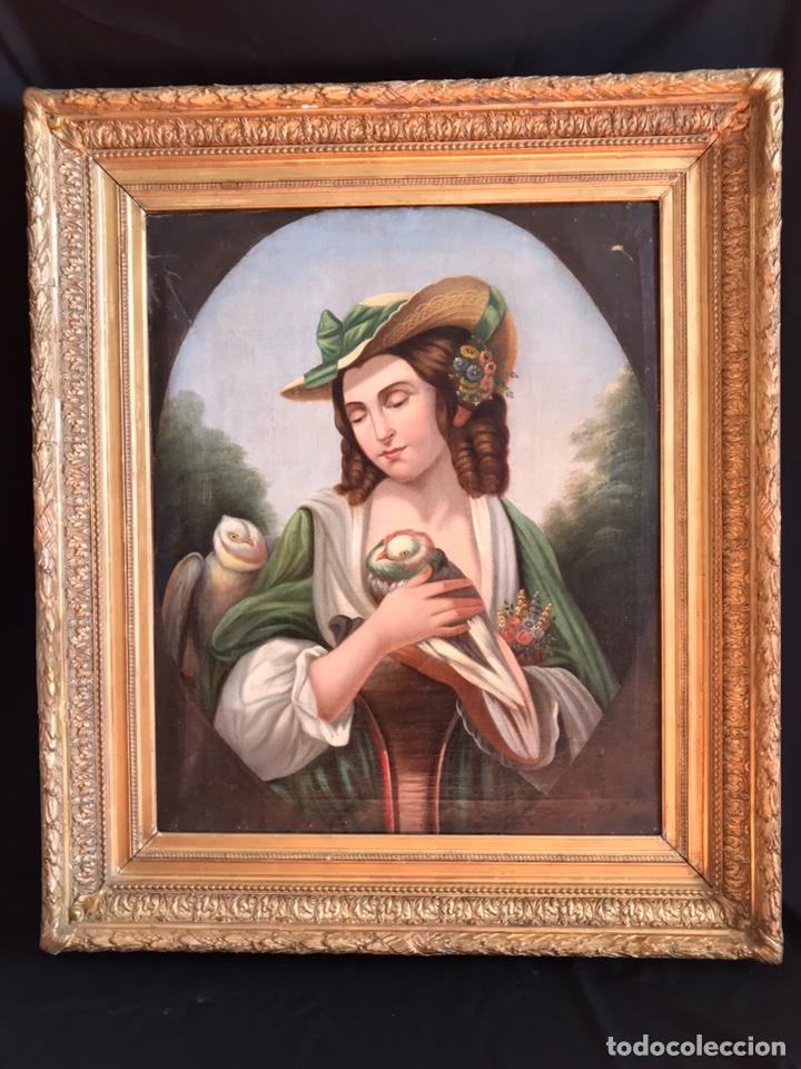 Arte: Escuela Italiana S XVIII, óleo sobre lienzo, 103x90x9 (marco), 65x79 - Foto 2 - 176818449