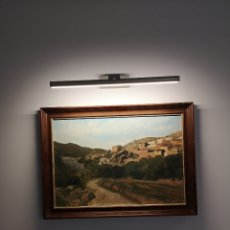 Arte: C. ARTESEROS, OLEO SOBRE LIENZO, FIRMADO Y FECHADO, BUEN TRAZO. ENMARCADO 63X46CM. Lote 176842988