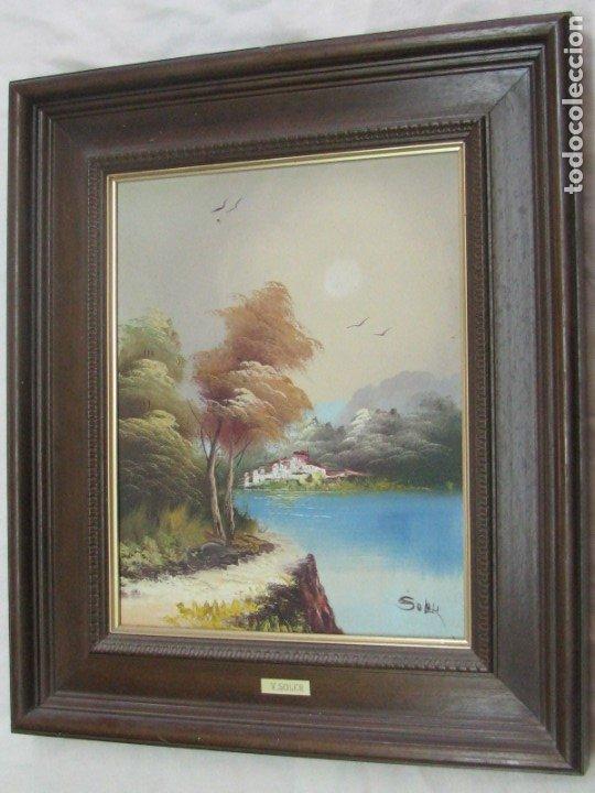 BARRACAS VALENCIANAS PINTADAS AL OLEO POR VICENTE SOLER (CASTELLON) (Arte - Pintura - Pintura al Óleo Contemporánea )