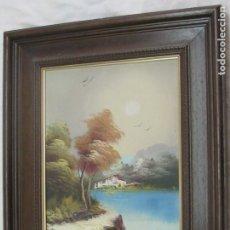 Arte: BARRACAS VALENCIANAS PINTADAS AL OLEO POR VICENTE SOLER (CASTELLON). Lote 176846775