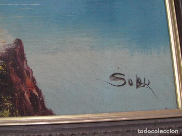Arte: BARRACAS VALENCIANAS PINTADAS AL OLEO POR VICENTE SOLER (CASTELLON) - Foto 3 - 176846775