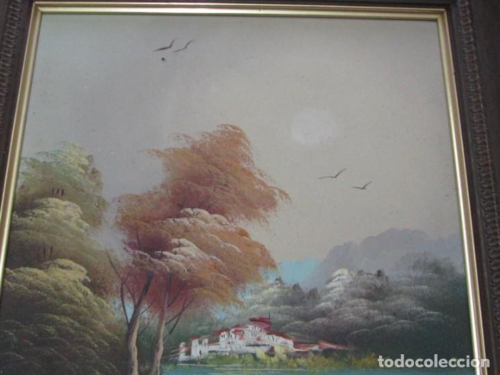Arte: BARRACAS VALENCIANAS PINTADAS AL OLEO POR VICENTE SOLER (CASTELLON) - Foto 5 - 176846775