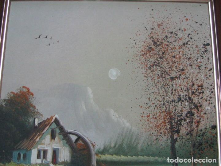 Arte: BARRACAS VALENCIANAS PINTADAS AL OLEO POR VICENTE SOLER (CASTELLON) - Foto 2 - 176847002