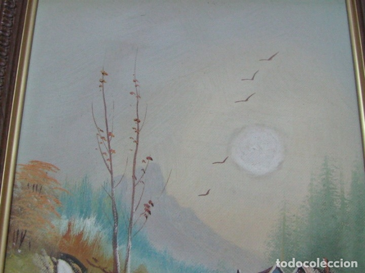 Arte: BARRACAS VALENCIANAS PINTADAS AL OLEO POR VICENTE SOLER (CASTELLON) - Foto 4 - 176847120