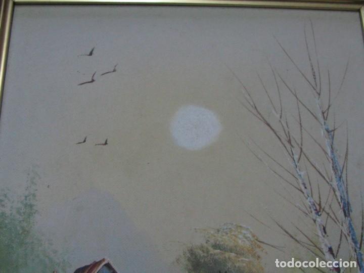 Arte: BARRACAS VALENCIANAS PINTADAS AL OLEO POR VICENTE SOLER (CASTELLON) - Foto 3 - 176847312