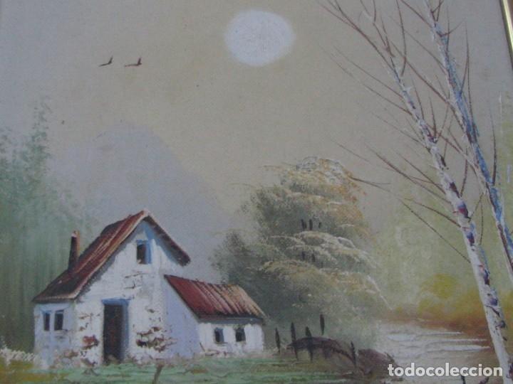 Arte: BARRACAS VALENCIANAS PINTADAS AL OLEO POR VICENTE SOLER (CASTELLON) - Foto 7 - 176847312