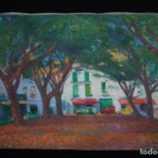 Arte: GUILLEM VILLÀ BASSOLS ( BARCELONA, 1917- 2001) EXTAORDINARIO OLEO SOBRE TELA. Lote 176850060