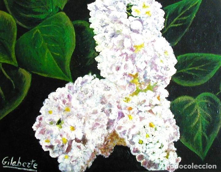 Arte: Lilas obra de Gilaberte - Foto 2 - 176918217