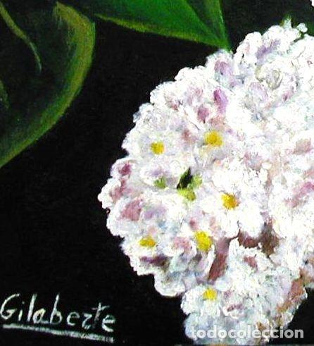 Arte: Lilas obra de Gilaberte - Foto 3 - 176918217