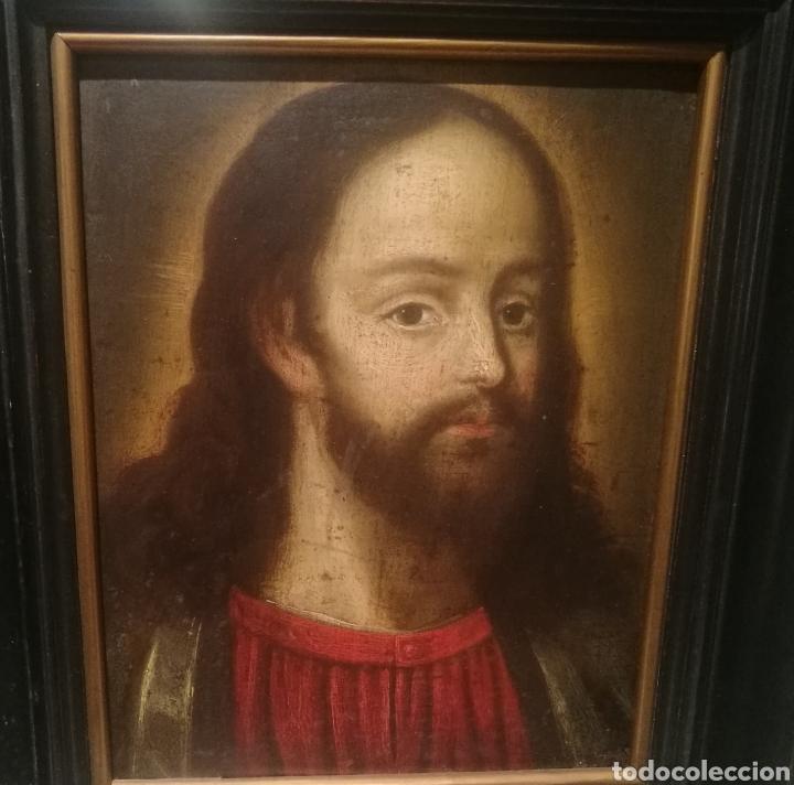 CRISTO. ESCUELA ESPAÑOLA DEL S.XVI (Arte - Pintura - Pintura al Óleo Antigua siglo XVI)
