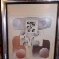 Arte: MIGUEL BAGAN AÑO 81. PINTOR DE CASTELLON. Lote 177006519