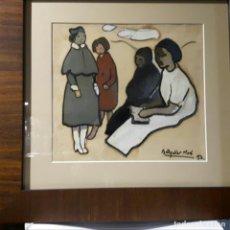 Arte: AGUILAR MORE RAMÓN CUADRO DE TECNICA MIXTA. Lote 177024295
