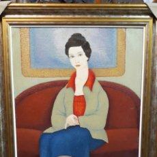 Arte: PUIG BARELLA ( OLEO SOBRE LIENZO )( 1894 -1984.). Lote 177029859