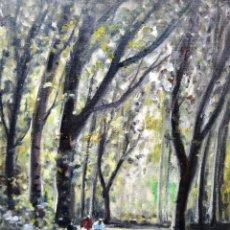 Arte: JOAQUIM MARSILLACH CODONY (1905-1986) - PAISAJE CON FIGURAS . OLEO / TELA. Lote 126886659