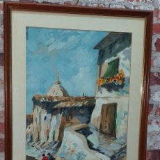 Arte: OLEO SOBRE PAPEL FIRMADO 2ª M. S.XX. Lote 177234085