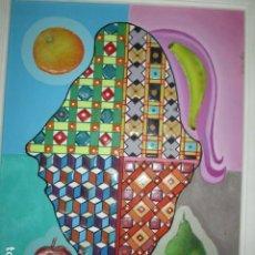 Arte: ANTIGUA PINTURA OLEO CUADRO SIMBOILISMO BODEGON CABALISTICO MASONERIA. Lote 177257388
