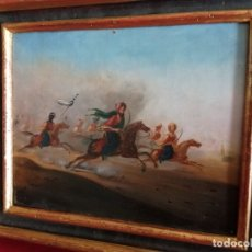 Arte: ÓLEO SOBRE LIENZO P.P SXIX ESCUELA FRANCESA, FANTASÍA 1830 FECHADO. Lote 177286539