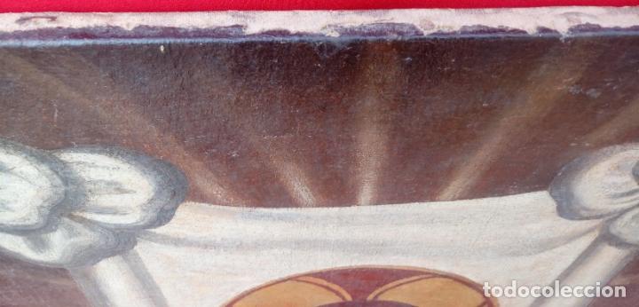 Arte: ÓLEO S/LIENZO -SANTA FAZ-. ESCUELA ESPAÑOLA S. XVI. DIM.- 56X44 CMS. - Foto 3 - 177299129