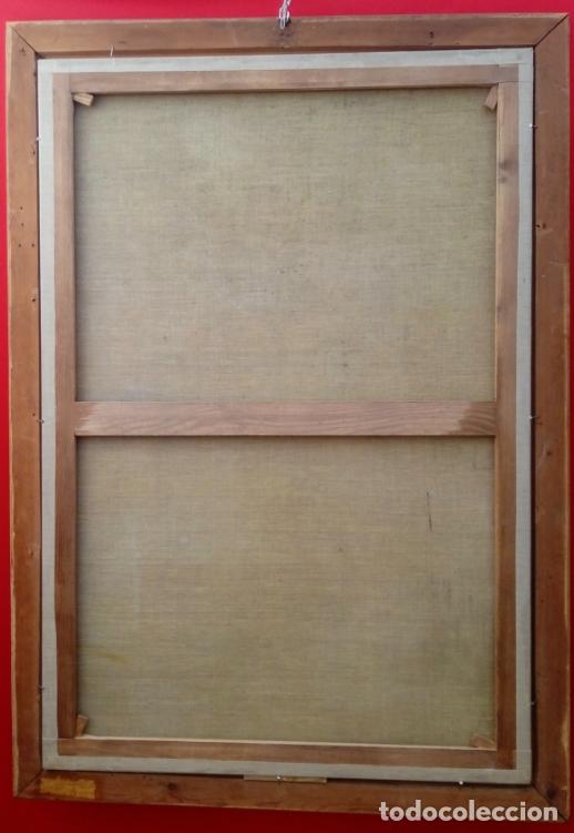 Arte: ÓLEO S/LIENZO -SAN JOSÉ CON EL NIÑO-. ESC BARROCA SEVILLANA S. XVII, CÍRCULO MURILLO. 135.5X96 CMS - Foto 11 - 177316400