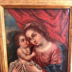 Arte: CÍRCULO DE FRANCISCO MENESES OSORIO, ESCUELA SEVILLANA DEL S XVII, ÓLEO LIENZO, 76CM X 60CM X 6CM. Lote 177394832
