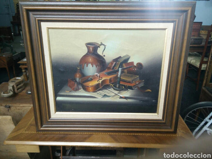 PINTURA OLEO SOBRE LIENZO (Arte - Pintura - Pintura al Óleo Antigua sin fecha definida)