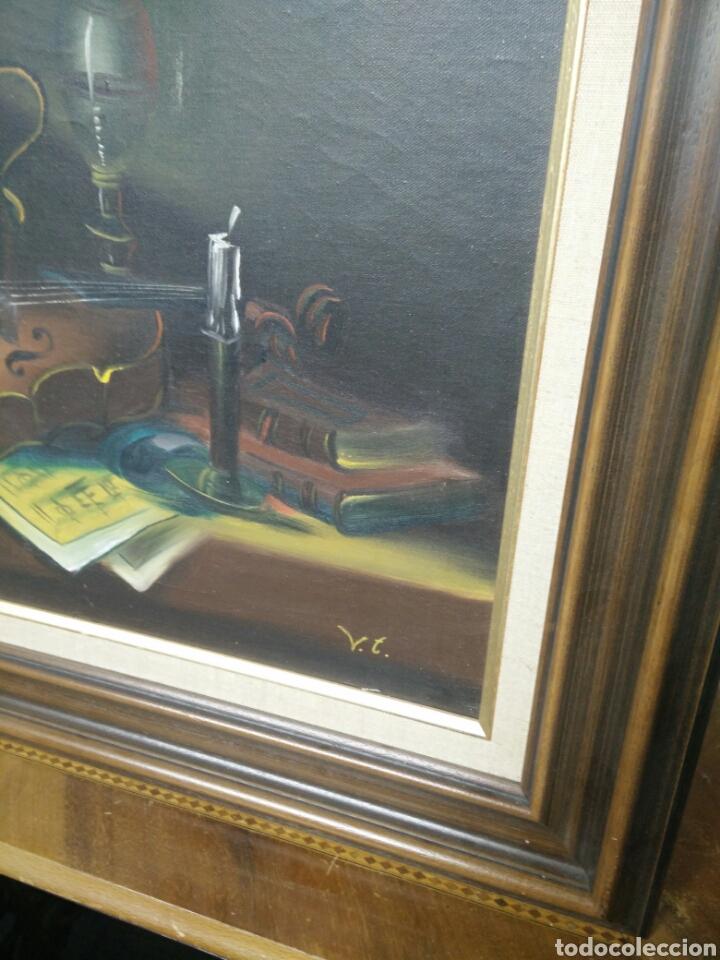 Arte: Pintura bodegón oleo sobre lienzo - Foto 2 - 177406664