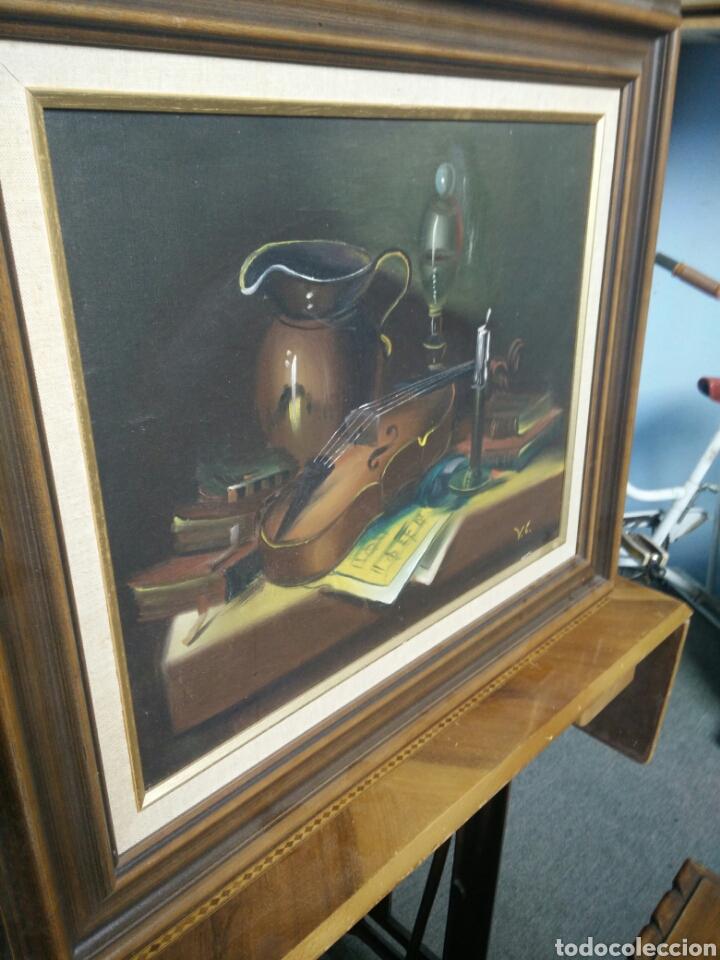 Arte: Pintura bodegón oleo sobre lienzo - Foto 4 - 177406664