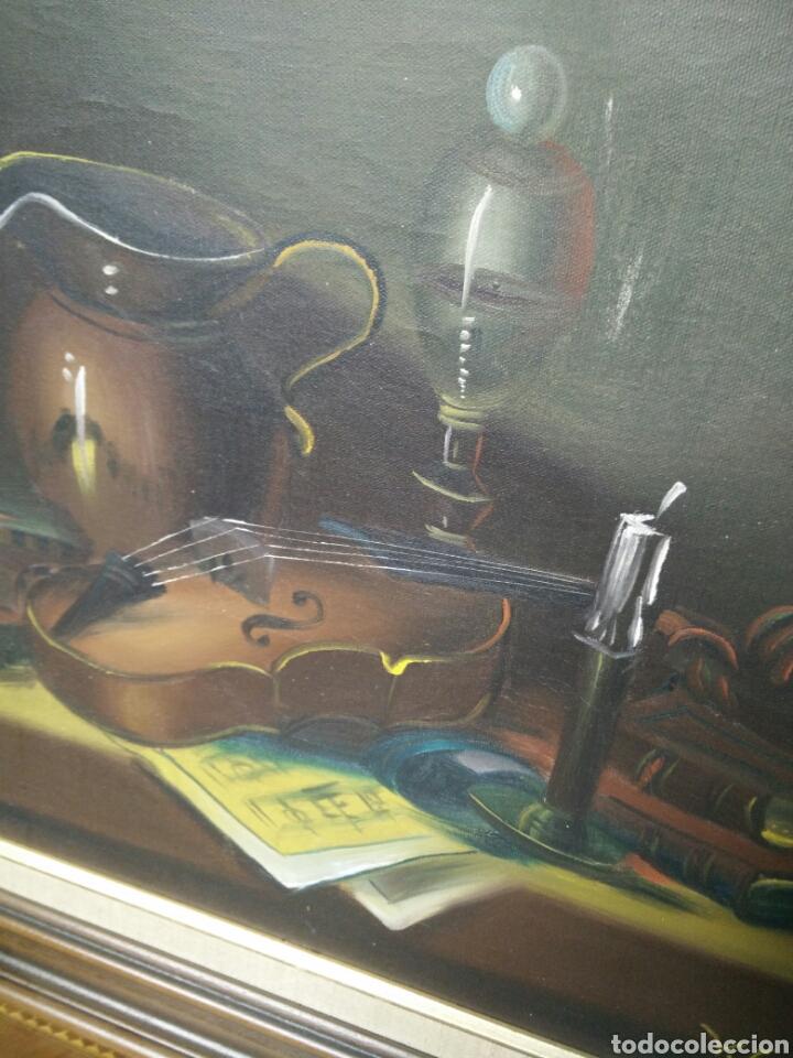 Arte: Pintura bodegón oleo sobre lienzo - Foto 5 - 177406664