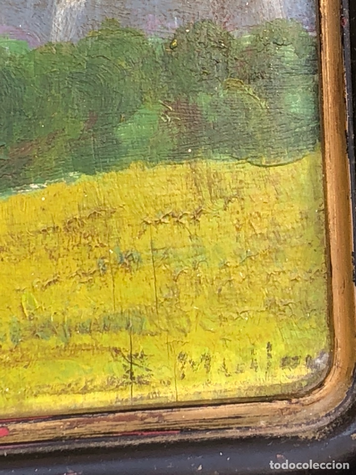 Arte: Bonito óleo sobre tabla firmado - Foto 2 - 199675518