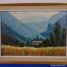 Arte: OLEO SOBRE TELA DE RAMON TRULLS PONS PINTOR DE MANRESA.. Lote 177430413