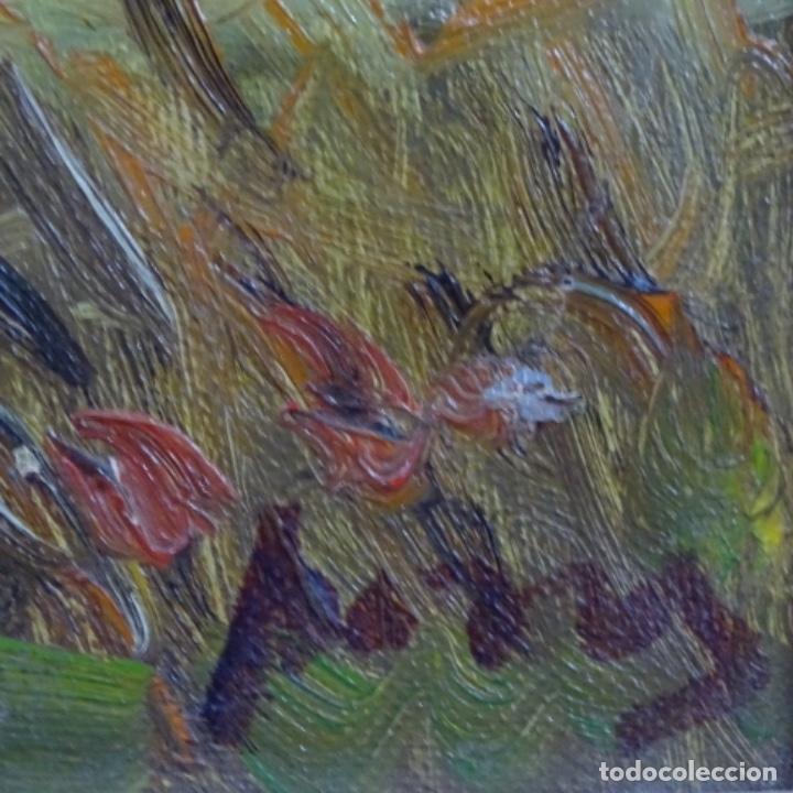 Arte: Oleo sobre tela de Ramon trulls Pons pintor de Manresa. - Foto 10 - 177430413