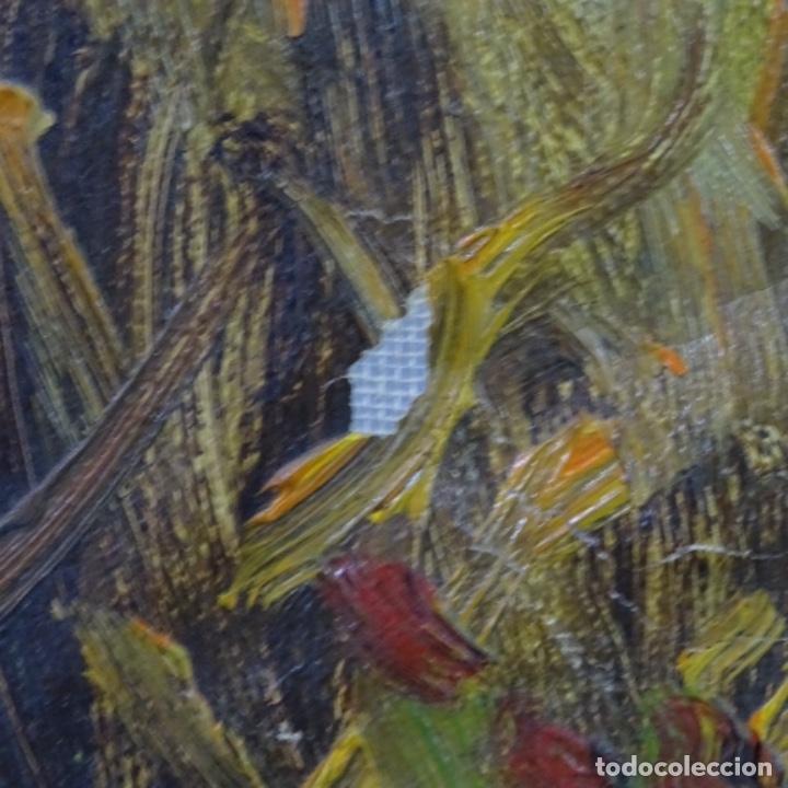 Arte: Oleo sobre tela de Ramon trulls Pons pintor de Manresa. - Foto 12 - 177430413