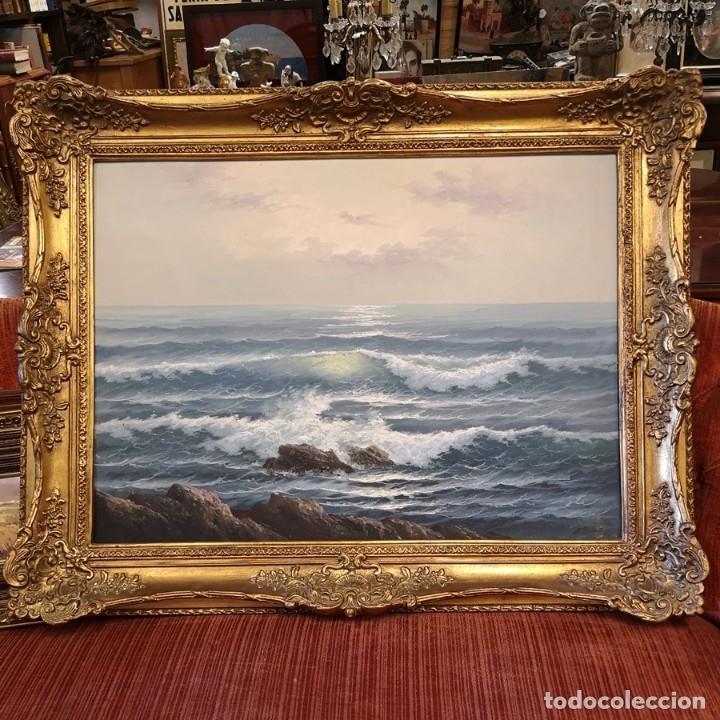 ÓLEO MARINA (Arte - Pintura Directa del Autor)