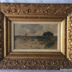 Arte: VICENTE MOTA Y MORALES (QUINTANAR DE LA ORDEN, TOLEDO 1869).EL PINTOR DE LOS PASTORES. Lote 177486590