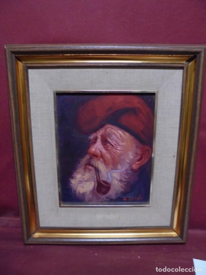 MAGNIFICO OLEO SOBRE LIENZO,DEL PINTOR A.CASALS (Arte - Pintura - Pintura al Óleo Contemporánea )