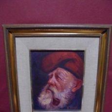 Arte: MAGNIFICO OLEO SOBRE LIENZO,DEL PINTOR A.CASALS. Lote 177521127
