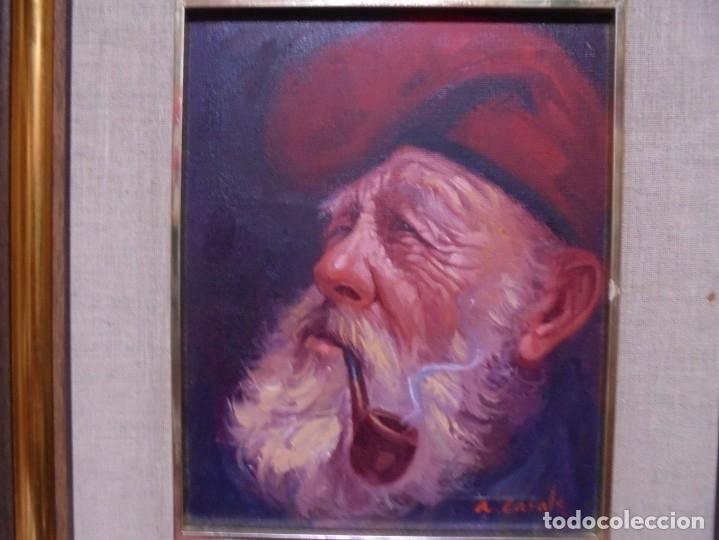 Arte: magnifico oleo sobre lienzo,del pintor A.casals - Foto 3 - 177521127